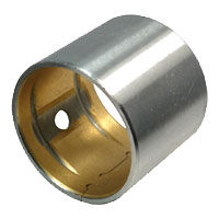 bimetal bushing,bimetallic bush,steel bronze bearing